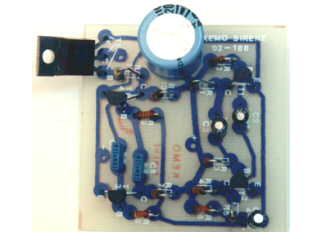 B036 Kit Space siren 12V=, 15W