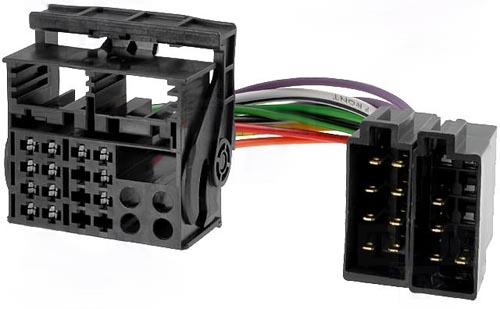 Adaptador para autorádio FORD 2003-> -» ISO macho