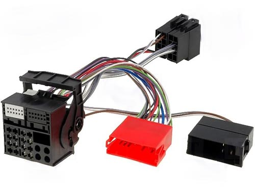 Adaptador para autorádio AUDI A/3/4/6 (FOR NAVIGATION RNS-E) -»