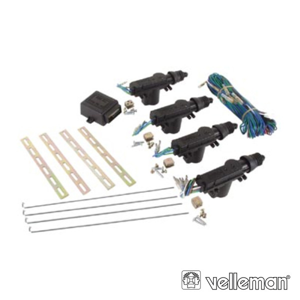 Kit Fecho Central para carro de 4 portas - 1 Master
