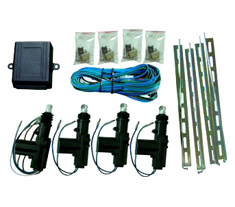 Kit Fecho Central para carro de 4 portas - 2 Master
